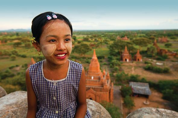 Sunset Temple, Bagan