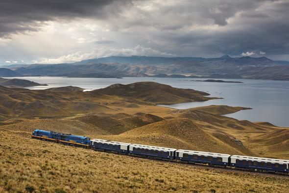 Belmond Andean Explorer, Lake Titicaca