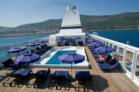 Aegean Odyssey - Pool Deck