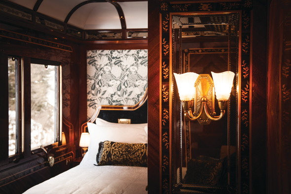 Suite on the Venice Simplon-Orient-Express