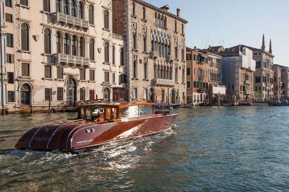Aman Venice water taxi