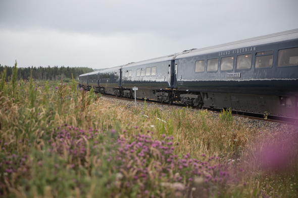 Belmond Grand Hibernian train in Ireland