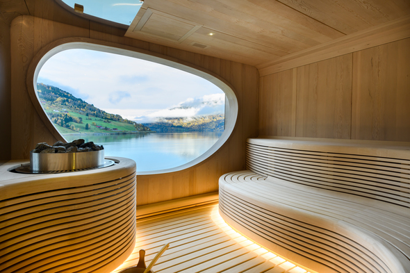 Sauna on board Ponant's Le Champlain