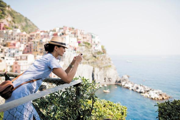 Regent guest in Cinque Terre, Italy