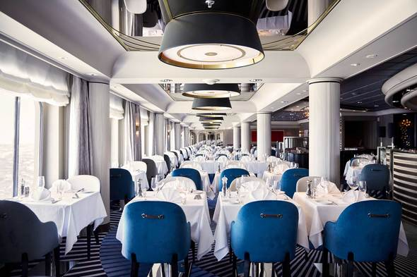 Crystal Symphony - Waterside restaurant