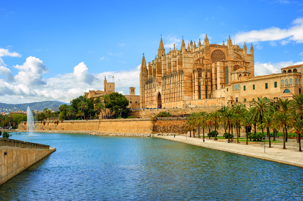 Seu cathedral in Palma de Mallorca, Spain