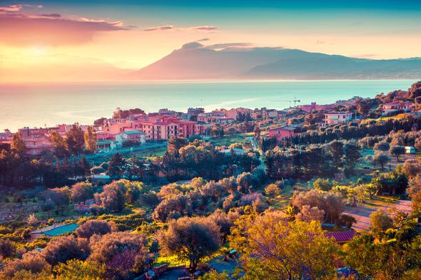Solanto village near Palermo, Sicily