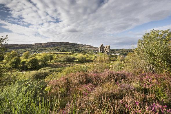 Tarbert Castle, Scotland