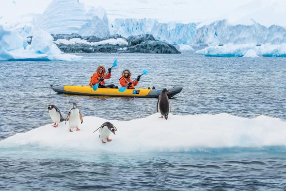 Lindblad Expeditions - Sea kayaking in Antarctica