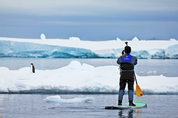 Quark Expeditions - Stand-up paddleboarding in Antarctica