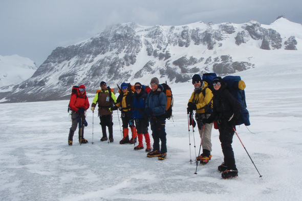 Aurora Expeditions - Mountaineering in Antarctica