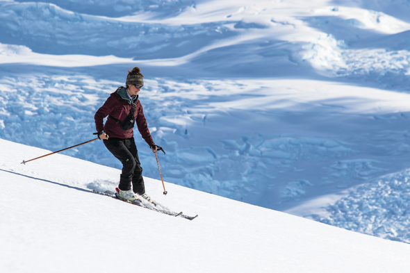 Aurora Expeditions - Cross country skiing in Antarctica