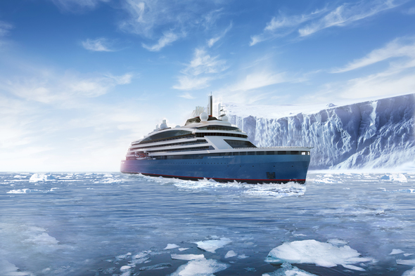 Ponant - Le Commandant Charcot in Antarctica