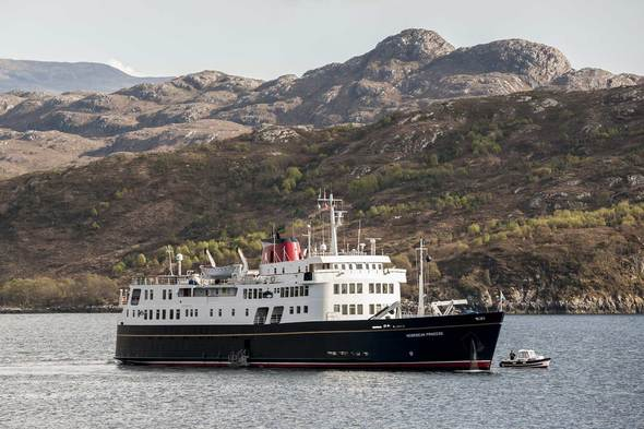 Hebridean Princess in Scotland