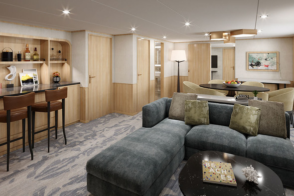Windstar refurbishment - Star Owners Suite
