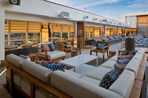 Viking Ocean Cruises - Main pool