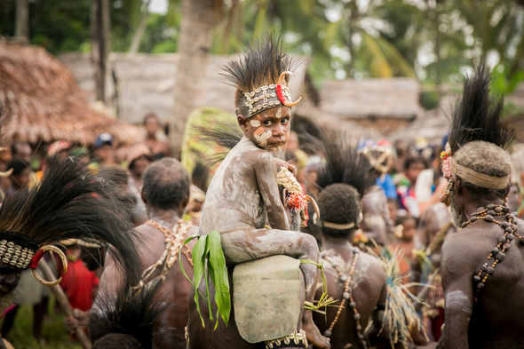 True North expedition cruise to the Sepik River, Papua New Guinea