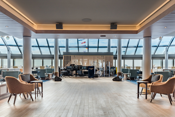 Saga - Spirit of Discovery - Britannia Lounge
