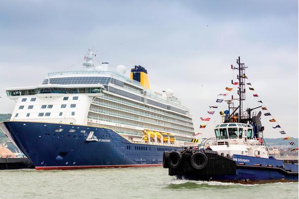 Saga Cruises - Spirit of Discovery in Dover