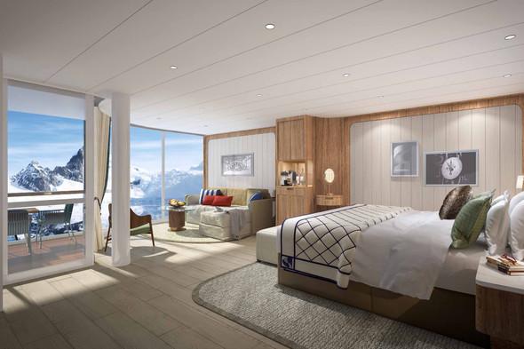 Seabourn Venture - Panorama Suite