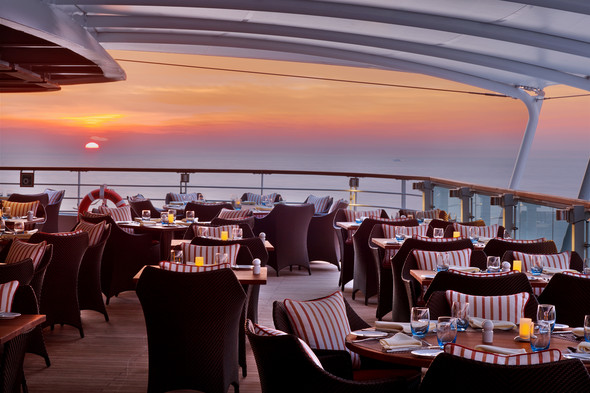 Seabourn Encore - Outdoor terrace