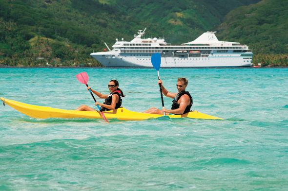 Paul Gauguin Cruises - Kayaking