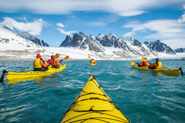 Silversea Expeditions - Kayaking in the Arctic
