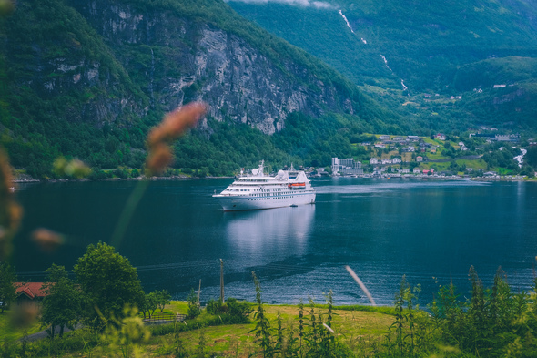 Windstar - Star Legend cruising the Norwegian Fjords