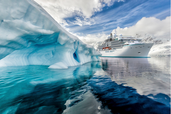 Crystal Endeavor in Antarctica