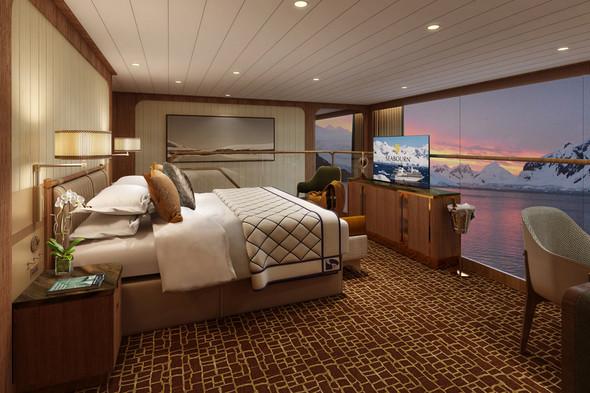 Seabourn Venture - Wintergarden Suite