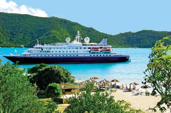 SeaDream Yacht Club in the Caribbean - A great small ship charter option