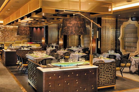 Regent Seven Seas Explorer - Pacific Rim restaurant