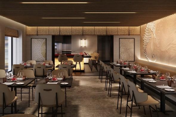 Crystal Endeavor - Umi Uma restaurant by Nobu Matsuhisa
