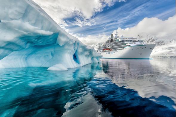 Crystal Endeavor in Antarctica