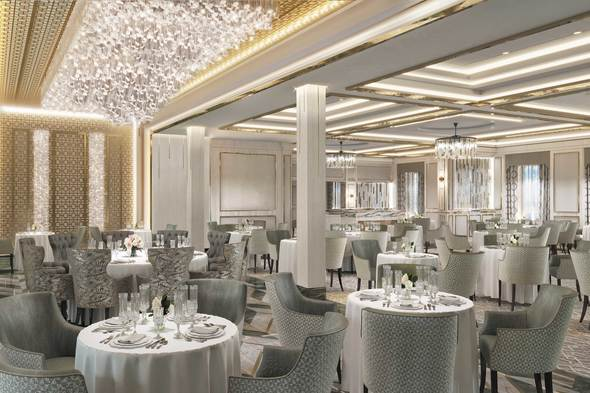 Regent Seven Seas Splendor - Compass Rose restaurant