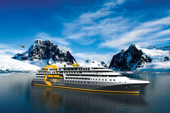 Quark Expeditions - Ultramarine in Antarctica
