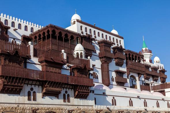 Old city of Jeddah, Saudi Arabia
