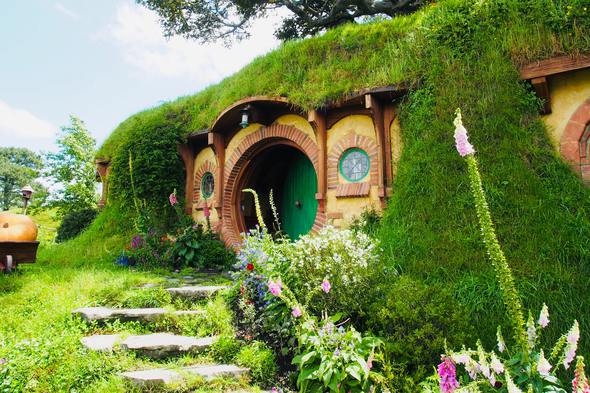 Hobbiton film set, New Zealand