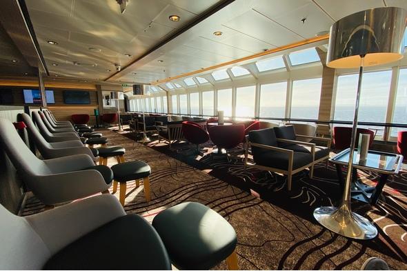 Lounge on MS Fridtjof Nansen