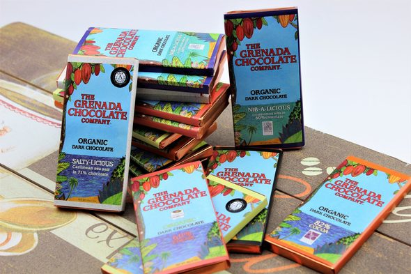 Grenada Chocolate Company bars
