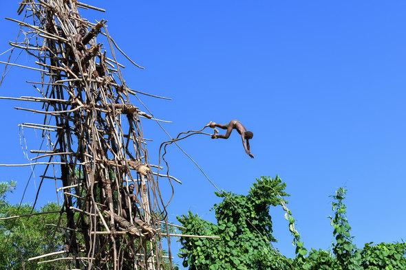 Land diving on Pentecost Island, Vanuatu