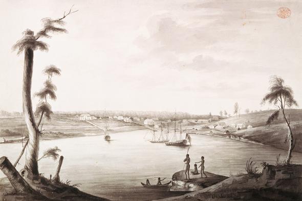 Thomas Watling - Sydney Cove
