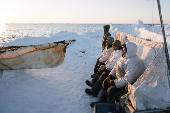 Kiliii Yuyan - Whaling Crew on Watch at Amuaq