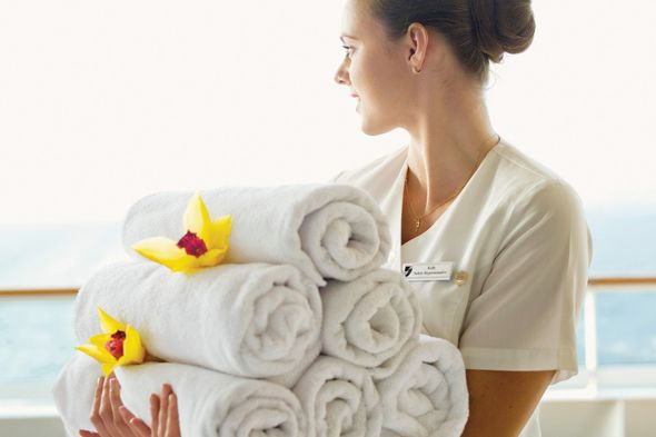 Seabourn spa staff