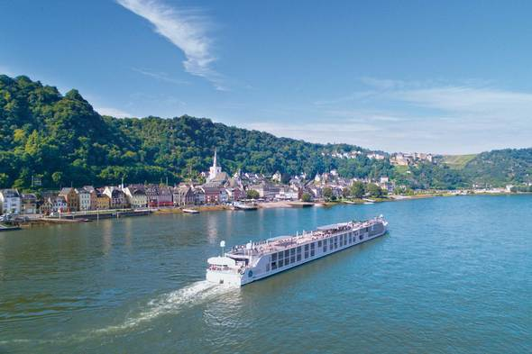Luxury river cruise on Crystal Bach