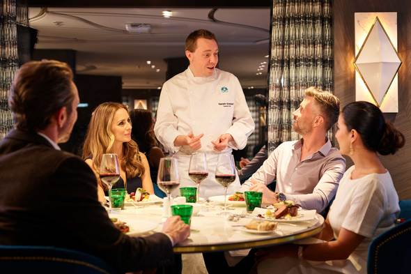 Crystal River Cruises - Dinner at Waterside restaurant