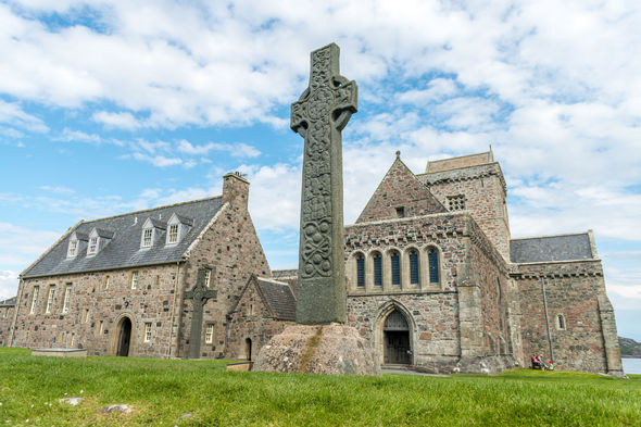 St Martin's Cross, Iona Abbey, Scotland