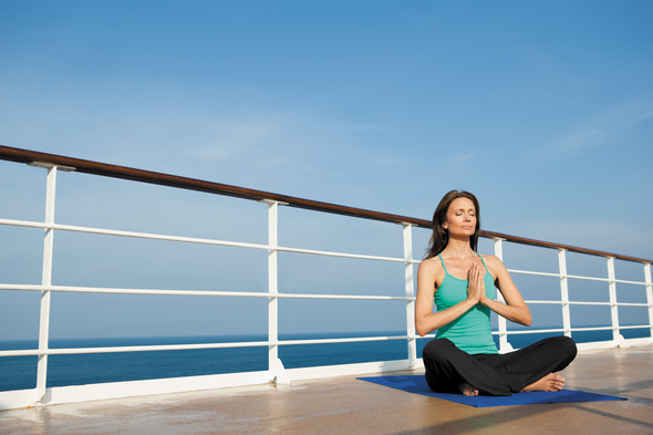 Regent Seven Seas Cruises - Yoga on deck