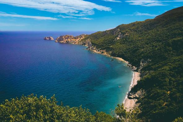 Beach on Skiathos, Greece