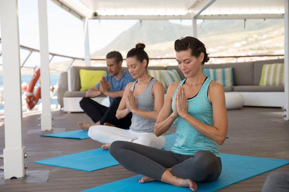 Crystal Esprit - Yoga class